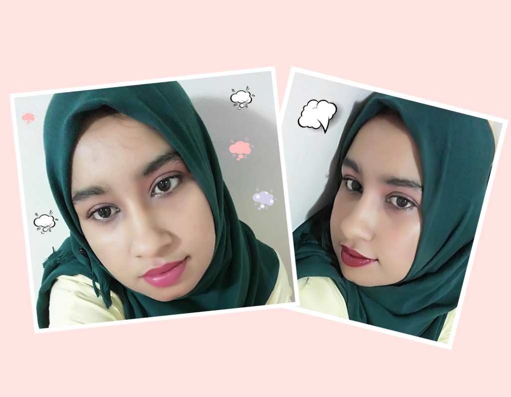 Hijab Girl Simple Fall Makeup Look Fashion